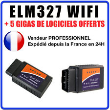 Interface diagnostic ELM327 WIFI Windows Android iPhone iPad ELM 327 OBDII Scan