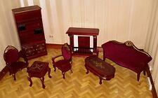 Casa De Muñecas Muebles Set Lounge