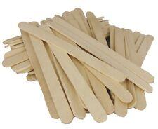 Wooden Spatula / Paddle Pop Sticks - Small - 100pcs - Australian Seller