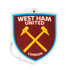 WEST HAM UNITED FC AIR FRESHENER FRESHNER CAR ACCESSORY ROOM OFFICE GIFT XMAS