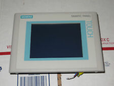 Siemens Touch Panel TP177B DP-6 MSTN 6AV6 642-0BC01-1AX1, Very Nice Used Tested