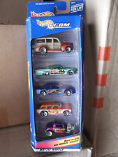 1998 Hot Wheels 25371 .com Cars 5 CAR GIFT SET NIP