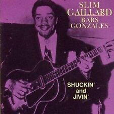 Slim Gaillard/Babs Gonzales Shuckin' & Jivin' CD NEW SEALED Blues