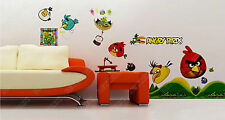 Angry Birds Characters Wall Stickers Decor Home Nursery Kid Boy Room Decal A05