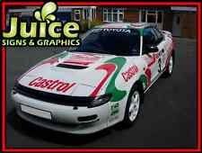Toyota Celica Full Rally Replica Castrol Graphics Kit