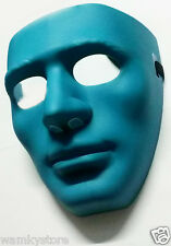 Hollow Man Face Mask - Party Mask - Four Colours - Set of 4 - JabbaWockeeZ Mask
