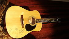 SURVIVOR BAND AUTOGRAPHED SIGNED MITCHELL ACOUSTIC GUITAR! ( Eye Of The Tiger )
