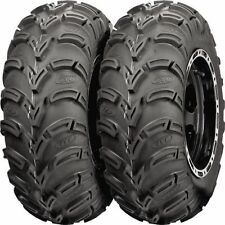 TWO ( 2 )  25X10-12  AMERICAN MADE ITP MUD LITE ATV TIRES NEW - MADE IN USA
