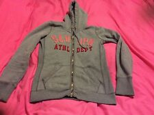 Grey Vintage Superdry Hoodie Woman's Size Small