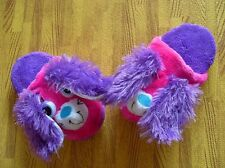New Stompeez Child Slippers Size Small Shoes Size 9-11 Purple Bunny Fun Stomper