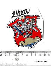 Aufkleber/Sticker Landkreis Wappen Elten