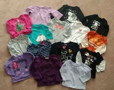 Baby girl infant 12 months lot long sleeve shirts onesies bodysuits 15 pc