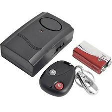 Motorcycle Motorbike Scooter Anti-Theft Security Alarm Vibration Remote 5Y