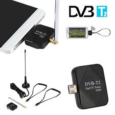 DVB-T2 Receiver Micro USB Dongle Digital HD TV Tuner Receiver For Android phone