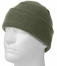 Foliage Green Deluxe Fine Knit Winter Watch Cap - Rothco Acrylic Snow & Ski Hat