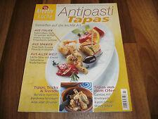 Kreativ Küche -- ANTIPASTI & TAPAS / Tortilla-Vitello tonnato-Gambas + Knoblauch