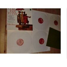 MOZART cosi fan tutte COLIN DAVIS - PHILIPS BOX Coffret 4 lp's + booklet 1974