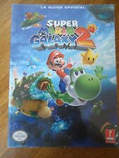 // NEUF ** GUIDE OFFICIEL SUPER MARIO GALAXY 2 ** NINTENDO PRIMA GAMES WII VF FR