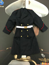 Dragon in Dreams DID US Marine Corps Tony Ceremonial Over Coat Loose 1/6th scale