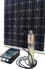 "4"" 500W Solar Submersible Bore Pump with 760W solar panel & 40m cable package &"