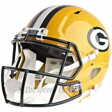 GREEN BAY PACKERS RIDDELL SPEED NFL FULL SIZE REPLICA FOOTBALL HELMET