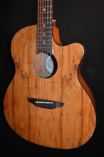 Luna Gypsy Spalt Grand Auditorium Acoustic ELECTRIC Guitar - Free Shipping!
