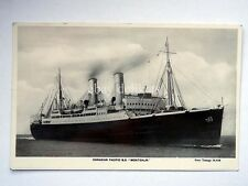 MONTCALM nave ship Canadian Pacific Lloyd paquebot liner vecchia cartolina