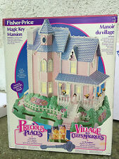 MAGIC KEY MANSION FISHER PRICE PRECIOUS PLACE RARE!!!!  NEW!!!