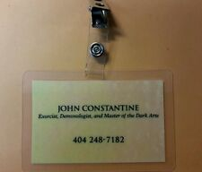 Arrow/Constantine ID Badge - John Constantine Business Card cosplay prop costume