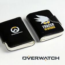 HOT Blizzard Game OVERWATCH TRACER Wallets purse PU