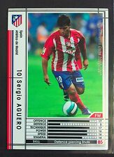 2006-07 Panini WCCF # 334 Sergio Aguero Atletico Madrid rookie card Man City