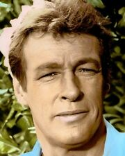 "RUSSELL JOHNSON GILLIGAN'S ISLAND TELEVISION ACTOR 8x10"" HAND COLOR TINTED PHOTO"