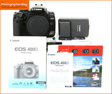 Canon EOS  400D Digital SLR Camera Body,Battery, Charger +  Free UK Post