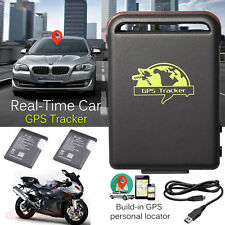 TK102 GPS/GSM/GPRS Tracker Car Vehicle Mini Spy Tracking Device SOS + 2*Battery