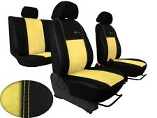 Car seat cover tailored in ALCANTARA for Skoda Octavia 1 bis 3 with Embroidery