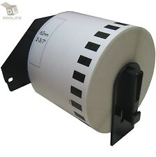1 Roll DK-2205 Brother-Compatible (Continuous) Labels [BPA FREE] + 1 Cartridge