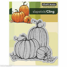 New Penny Black PUMKINS Cling Rubber Stamp Thanksgiving Pumpkins Fall Autumn