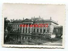 Foto, Wehrmacht, Blick auf den Lazienki-Palast, Warschau, Polen, 1940