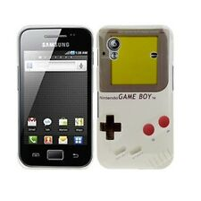 Pellicola+custodia BACK COVER GAMEBOY GRIGIO rigida per Samsung Galaxy Ace S5830