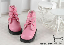 ☆╮Cool Cat╭☆【15-05】Blythe Pullip Doll Short Shoes # Honey Pink
