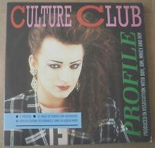 CULTURE CLUB PROFILE WITH 4 POSTERS & 36 PAGE BOOKLET PICTURE DISC