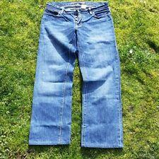"""MEN JEANS BLUE GAP LOW RISE STRAIGHT FIT DENIM WAIST 32"""" INSIDE LEG 32"""" VGC"""