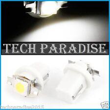 12x Ampoule B8.5D BX8.5D BAX10D ( T5 sur culot ) LED SMD Blanc White Neo Wedge