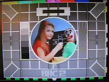BBC2 Test Card F DVD with music excellent quality Approx 18 mins