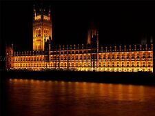 ARCHITECTURAL PALACE WESTMINSTER LONDON PARLIAMENT POSTER ART PRINT BB3014A