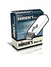 Hiren's Boot CD Computer Repair Tech & Password Recovery Win7,8,Vista & XP USB