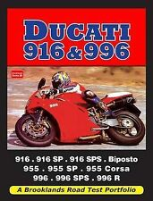 Ducati 916 & 996  Paperback NEW Book Free UK Shipping