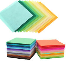 "15*15cm/5.9""x5.9"" 40pcs/lot Nonwoven Fabric Polyester Handmade Cloth Felt Sewing"
