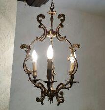 Alter Jugendstil Lüster Putte Engel Kronleuchter Lampe Leuchter vintage antik