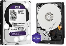 Western Digital 5TB PURPLE Surveillance Hard Drives SATA 6 Gbs 64MB WD50PURX WD